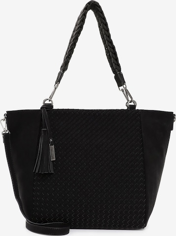 TAMARIS Shopper 'Davina' in Black