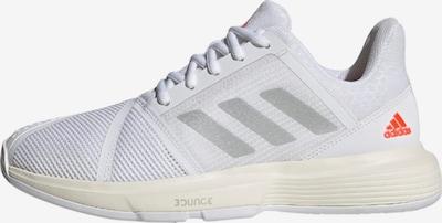 ADIDAS PERFORMANCE Sportschuh 'CourtJam Bounce' in grau / rot / weiß, Produktansicht