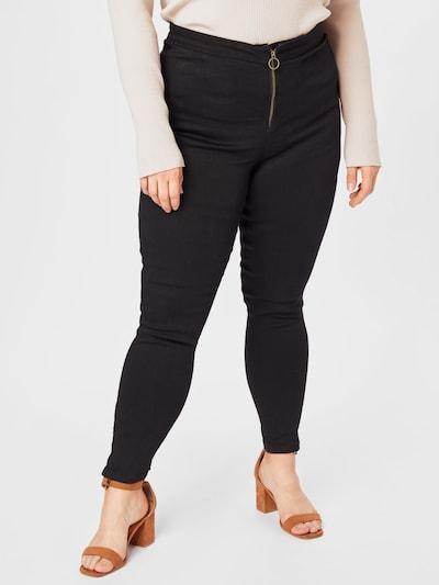 Missguided Plus Nohavice - čierna: Pohľad spredu