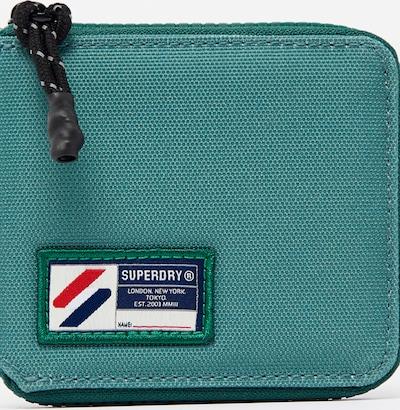 Superdry Portemonnee in de kleur Marine / Donkergroen / Rood / Wit, Productweergave