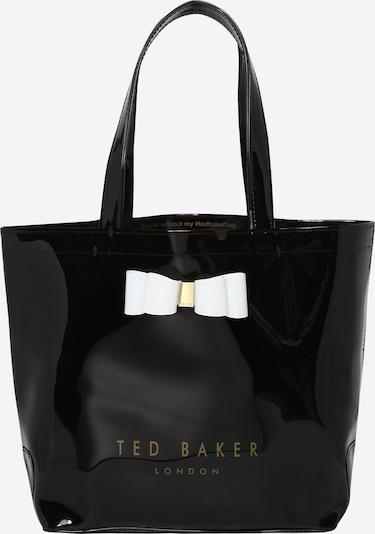 Ted Baker Shopper in schwarz / weiß, Produktansicht