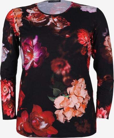Doris Streich Shirt mit floralem Print in rot, Produktansicht