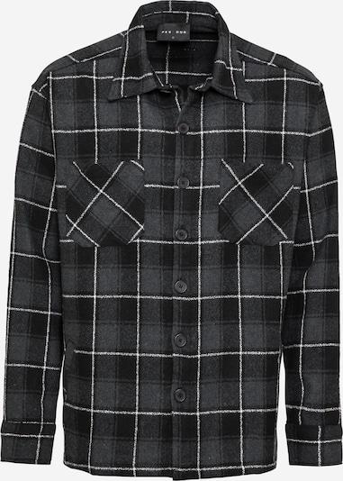 Pegador Shirt 'Flato' in Basalt grey / Black / White, Item view