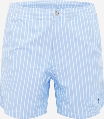 POLO RALPH LAUREN Pantalon 'CFPREPSTER6S' en bleu clair / blanc, Vue avec produit
