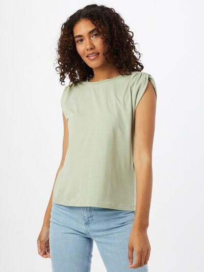 VERO MODA T-shirt 'PANDA' en vert: Vue de face
