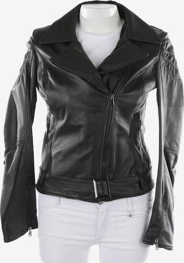 Camouflage Couture Lederjacke in M in schwarz, Produktansicht