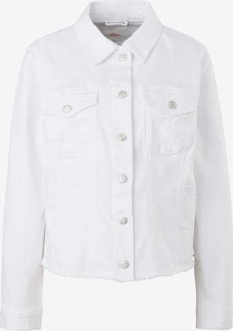 s.Oliver Between-Season Jacket in White
