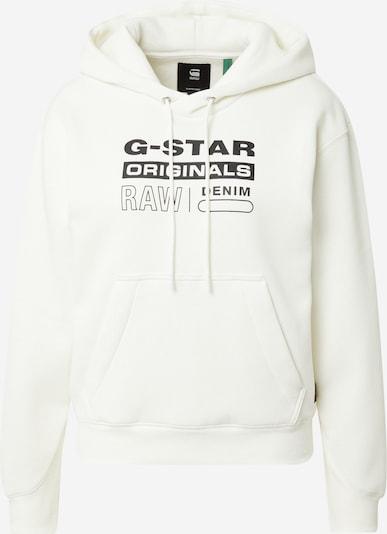 G-Star RAW Sudadera en negro / blanco, Vista del producto