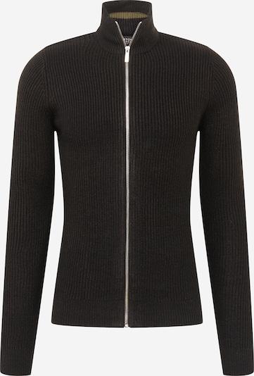 BURTON MENSWEAR LONDON Gebreid vest in de kleur Zwart, Productweergave