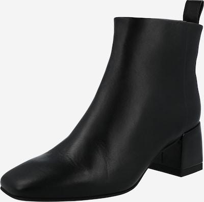 Cizme glezne Calvin Klein pe negru, Vizualizare produs