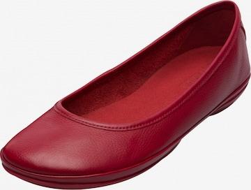 CAMPER Ballet Flats ' Right Nina ' in Red