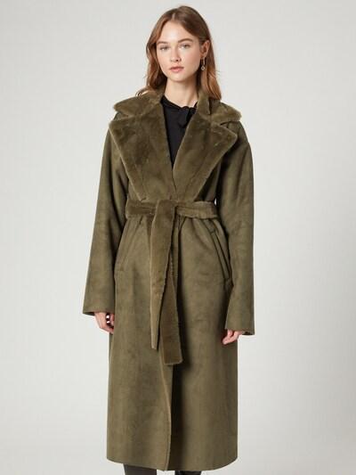 Guido Maria Kretschmer Collection Mantel 'Samara' in khaki, Modelansicht