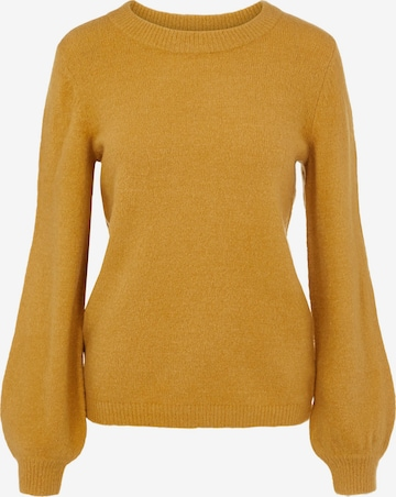 OBJECT Sweater 'Eve' in Yellow