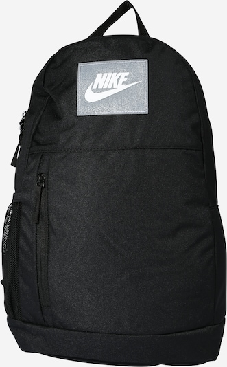 Nike Sportswear Sac à dos en gris / noir / blanc, Vue avec produit
