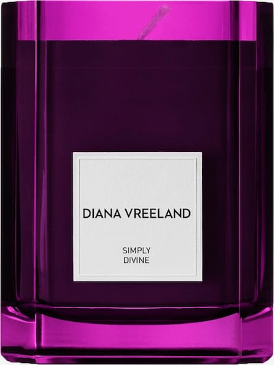 Diana Vreeland Kerze 'Simply Divine' in lila, Produktansicht
