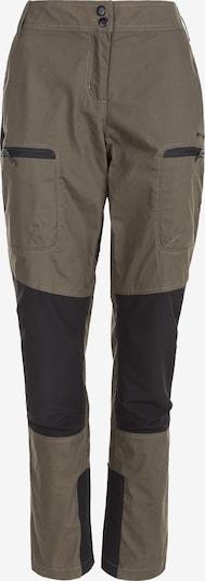 Whistler Outdoorhose in mokka / schwarz, Produktansicht