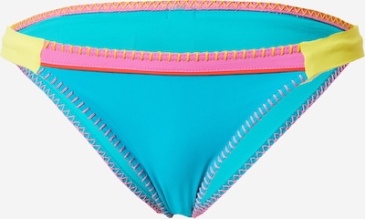 Banana Moon Bikinihose 'FRESIA' in neonblau / gelb / pink, Produktansicht