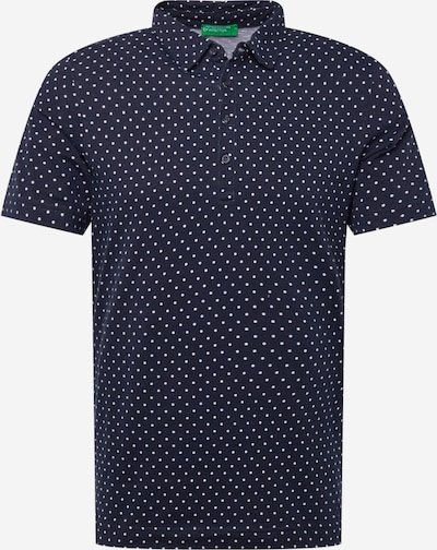 UNITED COLORS OF BENETTON Shirt in navy / weiß, Produktansicht