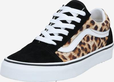 VANS Sneaker low 'Old Skool' i brun / sort / hvid, Produktvisning