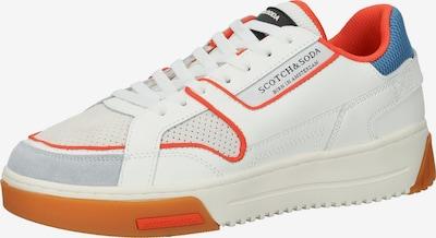 SCOTCH & SODA Sneaker in royalblau / orange / weiß, Produktansicht