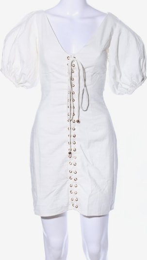 Sabo Kurzarmkleid in XS in weiß, Produktansicht