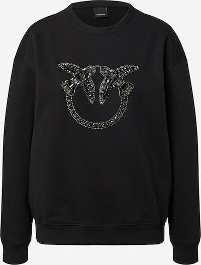 PINKO Sweat-shirt 'NELLY' en noir, Vue avec produit