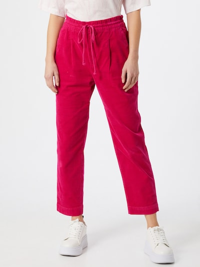 GAP Pleat-front trousers in pink, View model