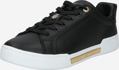 Sneaker low TOMMY HILFIGER pe auriu / negru, Vizualizare produs