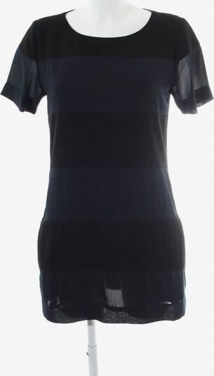 MADS NORGAARD COPENHAGEN Kurzarmkleid in S in dunkelblau / schwarz, Produktansicht