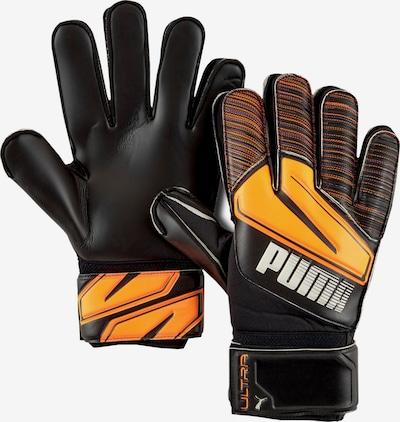 PUMA Sporthandschuhe in orange / schwarz / weiß, Produktansicht