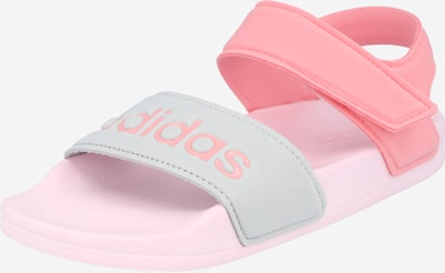 ADIDAS PERFORMANCE Buty na plażę/do kąpieli 'Adilette' w kolorze jasnoszary / pastelowy różm, Podgląd produktu