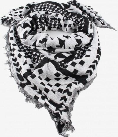 MANGO Schultertuch in One Size in schwarz / weiß, Produktansicht