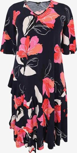 Yoek Kleid in mischfarben, Produktansicht