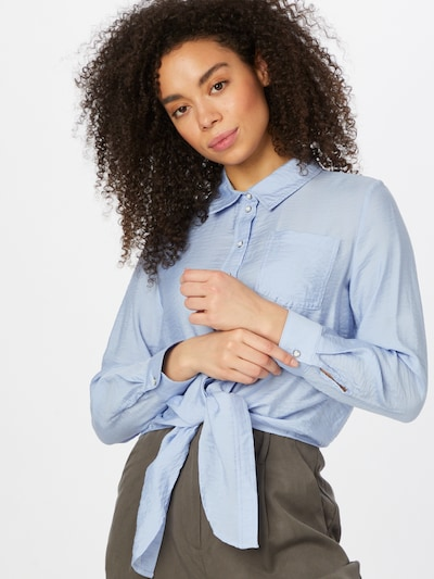 ONLY Bluse 'DANI' in azur, Modelansicht