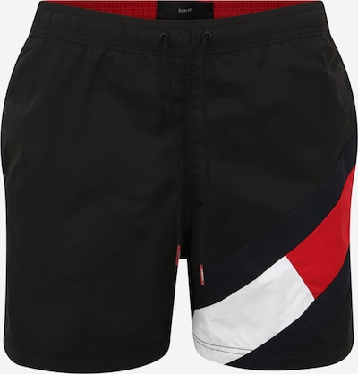 Tommy Hilfiger Underwear Swimming shorts in light red / black / white, Item view