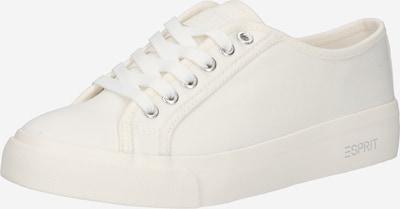 fehér ESPRIT Rövid szárú edzőcipők 'Nellie', Termék nézet