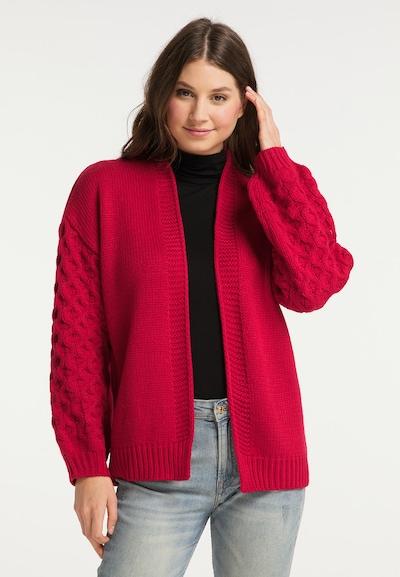 MYMO Cardigan in rot, Modelansicht