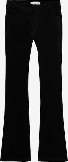MANGO Broek 'Velvet' in de kleur Zwart, Productweergave