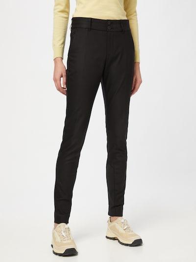 MOS MOSH Pantalon 'Blake Night' en noir, Vue avec modèle