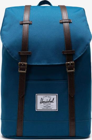 Herschel Rucksack 'Retreat' in blau / braun, Produktansicht