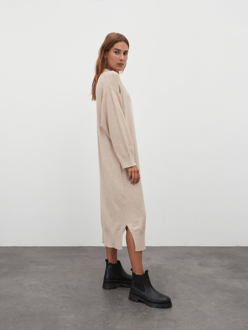 Gebreide jurk 'Dorothea'
