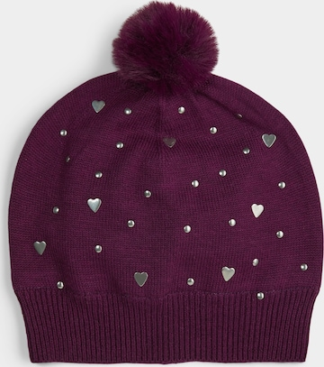 s.Oliver Beanie in Purple