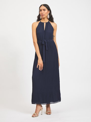 VILA Evening Dress 'Katelyn' in Blue