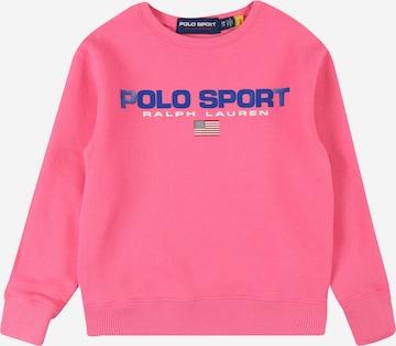 Sweat-shirt Polo Ralph Lauren en rose