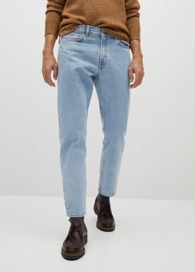 MANGO MAN Jeans 'Ben' in blue denim, Modelansicht