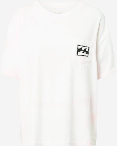 BILLABONG Functioneel shirt in de kleur Pastelroze / Zwart / Wit, Productweergave
