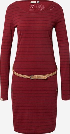 Ragwear Kleid 'Talona' in blau / weinrot, Produktansicht