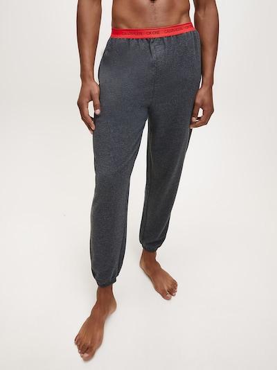 Calvin Klein Underwear Hose in grau / rot, Modelansicht