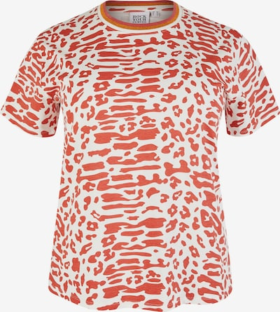 Rock Your Curves by Angelina K. T-Shirt in rot / weiß, Produktansicht