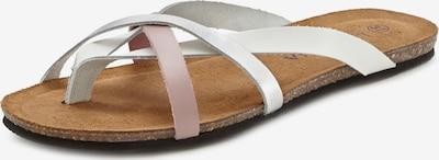 LASCANA Sandale in rosa / weiß, Produktansicht